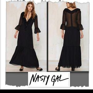 Nasty Gal beautiful dress